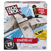 5a974fb61ff Tech Deck - Starter Kit - Ramp Set with Exclusive Board and Trainer Clips