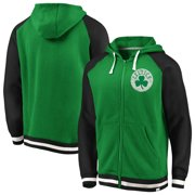 268f84a3623 Boston Celtics Fanatics Branded True Classic Vintage Retro Stripe Fleece  Full-Zip Hoodie - Kelly