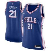 7e3d2fbad Joel Embiid Philadelphia 76ers Nike Women s Swingman Jersey Royal - Icon  Edition