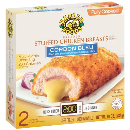 Barber Foods Cordon Bleu Stuffed Chicken Breasts 10 Oz Box