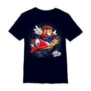 70cbdadd Nintendo Boys' Super Mario Odyssey Cappy T-Shirt