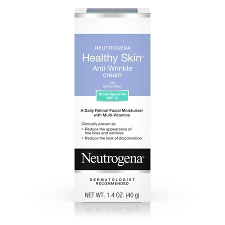 Neutrogena Healthy Skin Retinol & Anti Wrinkle Face Cream with SPF 15, 1.4