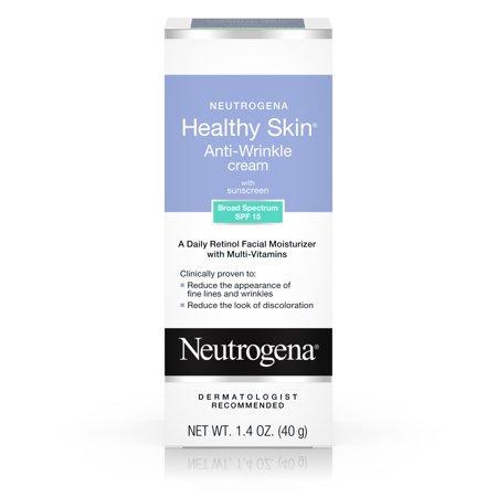 Neutrogena Healthy Skin Retinol & Anti Wrinkle Face Cream with SPF 15, 1.4 oz
