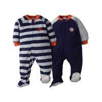 Gerber Microfleece Blanket Sleeper, 2pk (Baby Boys)
