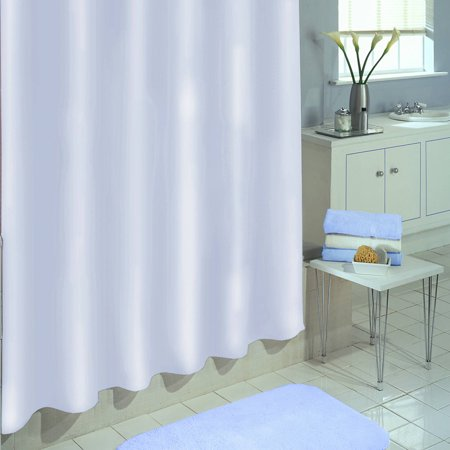 - Excell Medium-Weight Eco-Friendly 100 percent PEVA Shower Curtain Liner, Anti Mildew, 70