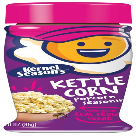 (2 Pack) Kernel's Season's Kettle Corn Popcorn Seasoning - Popcorn Mix For Halloween