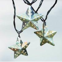 Better Homes & Gardens 10 ct String to String Metal Star Light Set