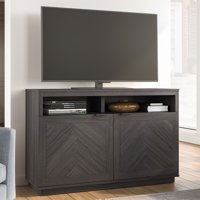 "Better Homes & Gardens Hendrix Herringbone Style TV Console, Fits TVs up to 55"" & 135lbs"