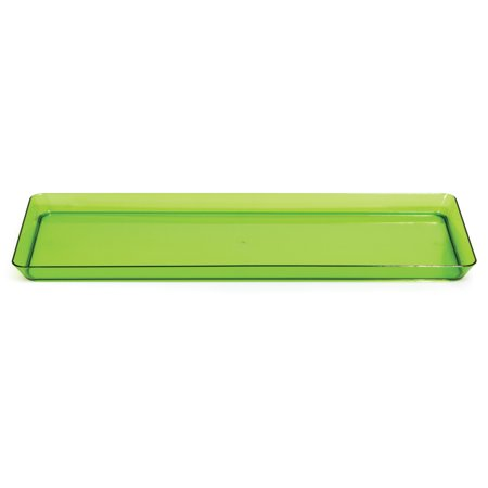 Trendware Translucent Green Serving Tray