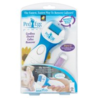 As Seen on TV Ped Egg, Electric Callus Remover