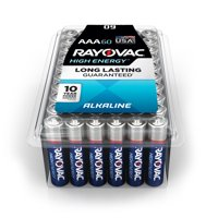 Rayovac High Energy Alkaline, AAA Batteries, 60 Count