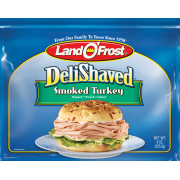 Land O'Frost Deli Shaved Smoked Turkey Lunchmeat, Sliced Thin, 9oz