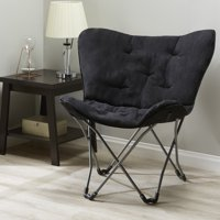 Mainstays Folding Butterfly Chair, Multiple Colors