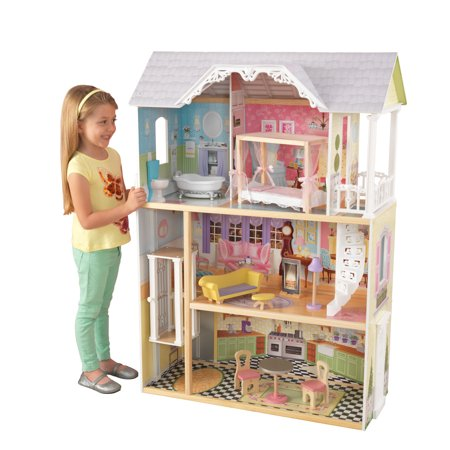 Kidkraft Kaylee Dollhouse With 10 Accessories Included Walmartcom