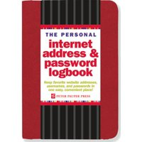 The Personal Internet Address & Password Logbook (Red) (Other)