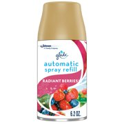 Glade Automatic Spray Refill Radiant Berries, Fits in Holder For Up to 60 Days of Freshness, 6.2 oz, 1 Refill