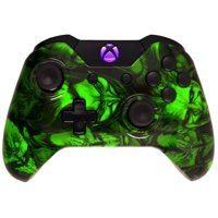 Hydro Dipped Joker Xbox One Modded Controller for ALL Games, Including COD Infinite Warfare, by Midnight Modz