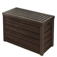 Keter Westwood 150 Gallon Resin Outdoor Deck Box/Storage Bench