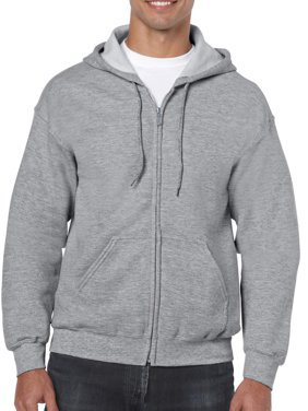 Big Men's Full Zip Hooded Sweatshirt