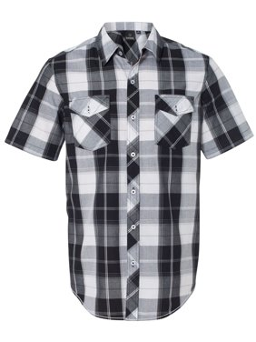 Burnside B9202 Plaid Short Sleeve Shirt
