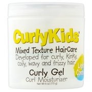 CurlyKids Mixed Texture HairCare Curly Gel Curl Moisturizer, 6 oz