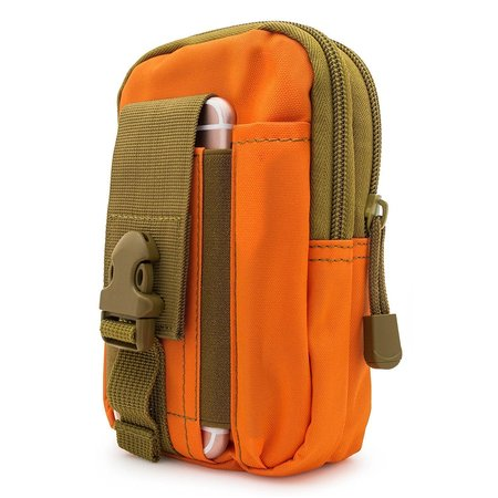 For Huawei Ascend Mate 2 II ~ XL Large Multipurpose Tactical Cover Smartphone Holster EDC Security Pack Carry Case Pouch Belt Waist Bag Gadget Money Pocket - Orange](huawei ascend mate 6.1 price)