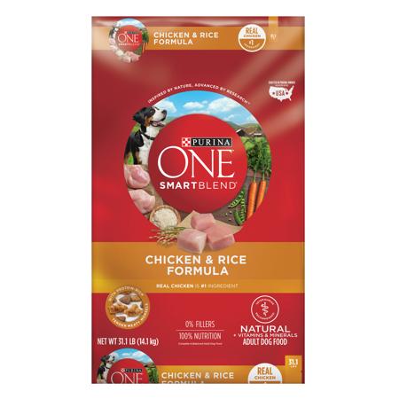 Purina One Smartblend Natural Chicken Rice Formula Adult Dry Dog