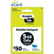 Straight Talk Broadband 5GB $50 (Email Delivery)