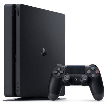 Sony PlayStation 4, 500GB Slim System [CUH-2215AB01], Black, (Best Price For Playstation 4 On Black Friday)