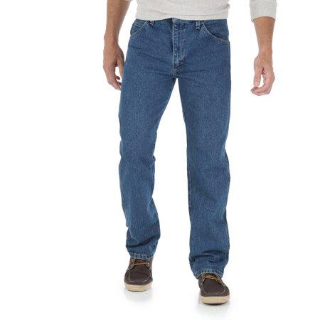 7af978b90fc1 Wrangler - Wrangler Men s Regular Fit Jeans - Walmart.com