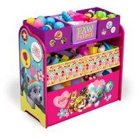 Paw Patrol Skye and Everest, Multi-Bin Toy Organizer