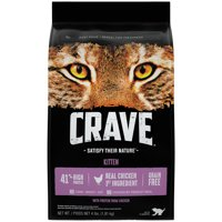 Crave Kitten Grain-Free with Protein from Chicken Dry Cat Food, 4 lb