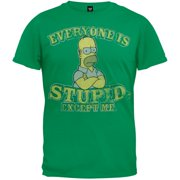 Simpsons - Everyone is Stupid Youth T-Shirt 4c9268cf0