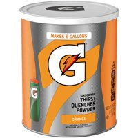 Gatorade Thirst Quencher Orange Drink Powder, 51 Oz.
