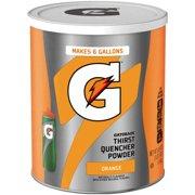 (3 Pack) Gatorade Thirst Quencher Drink Mix, Orange, 51 Oz, 1 Count