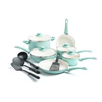 GreenLife Ceramic Non-Stick 14 Piece Cookware Set