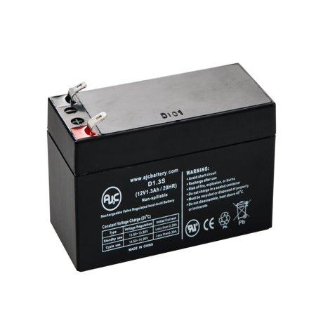 MK ES1.2-12 (12V 1.3Ah) 12V 1.3Ah Wheelchair Battery - This is an AJC Brand
