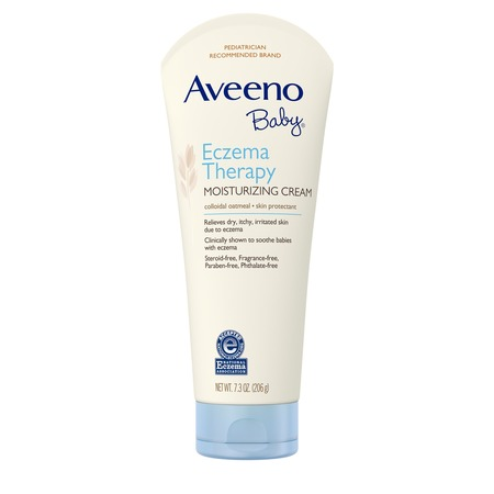 Angel Baby Natural Stretch Oil (Aveeno Baby Eczema Therapy Moisturizing Cream with Natural Oatmeal, 7.3 oz)