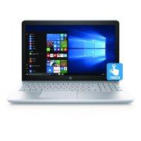 "HP Silver Iridium A12 15-cd040wm 15.6"" Laptop, Touchscreen, Windows 10 Home, AMD Quad-Core A12-9720P, 12GB Memory, 1TB Hard Drive"