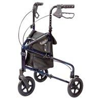 Carex Trio 3 Wheel Rolling Walker Rollator