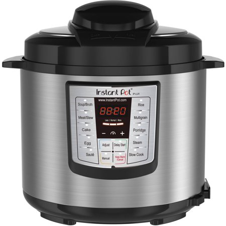 Instant Pot LUX60 6 Qt 6-in-1 Multi-Use Programmable Pressure Cooker, Slow Cooker, Rice Cooker, Sauté, Steamer, and