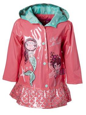 Mermaid Peplum Rain Jacket (Baby Girls & Toddler Girls)