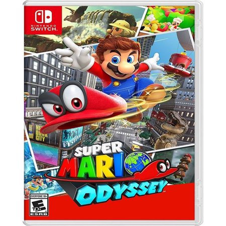 Super Mario Odyssey, Nintendo, Nintendo Switch, 045496590741 (Swish Card Game)