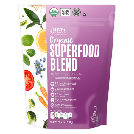 BetterBody Foods Organic Superfood Blend Powder, 12.7 Oz