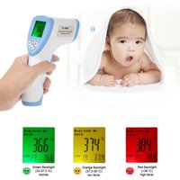 Digital LCD Baby Forehead Thermometer Non-contact Infrared Thermometer Body and Surface Temperature Meter Test DT-8809C with Instant Reading (6-8 Sec)(Batteries not included)
