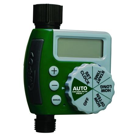 - Orbit LCD Single Port Hose Faucet Timer