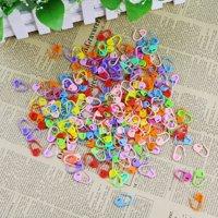200Pcs Knitting Crochet Locking Stitch Needle Clip Markers Holder