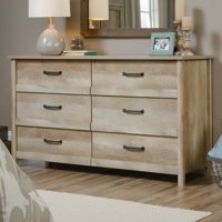 Wood + Farmhouse 6 Drawer Dressers Starting at $179