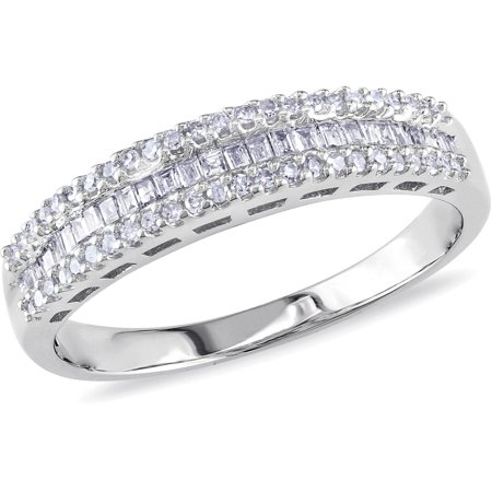 1/3 Carat T.W. Diamond Eternity Ring in 10kt White (Diamond Tw Eternity Ring)