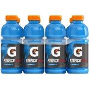 Gatorade Thirst Quencher Fierce Sports Drink, Blue Cherry, 20 Fl Oz, 8 Count